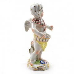 Meissen Meissen Porcelain Figurine of a Cupid as an Egg Seller - 176484