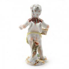Meissen Meissen Porcelain Figurine of a Cupid as an Egg Seller - 176486