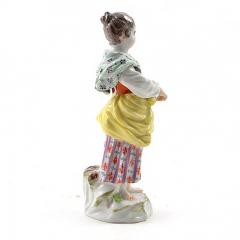 Meissen Meissen Porcelain Figurine of a Girl with a Book - 176404