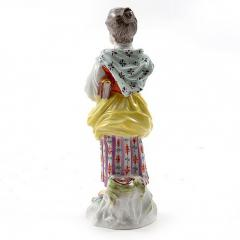 Meissen Meissen Porcelain Figurine of a Girl with a Book - 176405