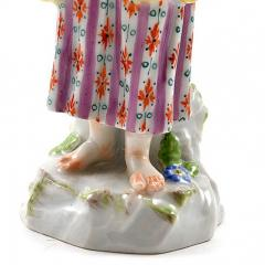 Meissen Meissen Porcelain Figurine of a Girl with a Book - 176410