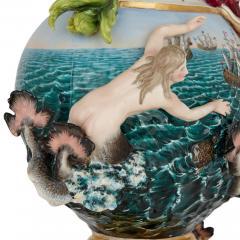 Meissen Porcelain Manufactory 19th Century Meissen Porcelain Water Elemental Ewer - 1913712