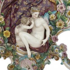 Meissen Porcelain Manufactory Pair of antique porcelain sconces by Meissen - 1858966