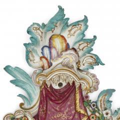 Meissen Porcelain Manufactory Pair of antique porcelain sconces by Meissen - 1858974