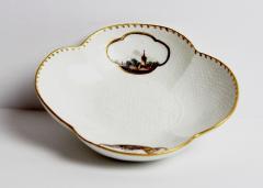 Meissen Porcelain Quatrefoil Cup and Saucer Circa 1735 - 125168