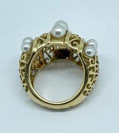Mellerio dits Meller Mellerio Paris 1940s ring - 1854559