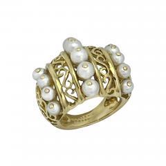 Mellerio dits Meller Mellerio Paris 1940s ring - 1855993