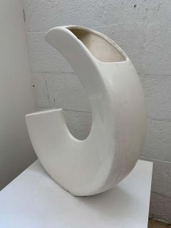 Memphis Group Postmodern Asymmetrical Vase by McRon 1994 USA - 1626250