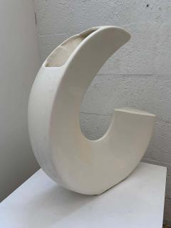 Memphis Group Postmodern Asymmetrical Vase by McRon 1994 USA - 1626251
