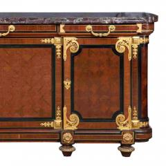 Mercier Fr res Antique Louis XVI Style Mahogany Ormolu and Marble Cabinet - 2003876