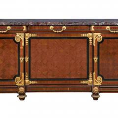Mercier Fr res Antique Louis XVI Style Mahogany Ormolu and Marble Cabinet - 2003879