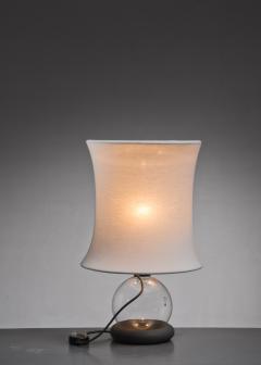 Meroni Gianfranco Frattini Lotus Table Lamp for Meroni Italy 1960s - 2066496