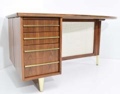 Miller Desk Safe Co Rosewood Midcentury Desk by Miller Desk Safe Company 1930s - 1457795