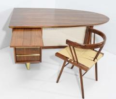 Miller Desk Safe Co Rosewood Midcentury Desk by Miller Desk Safe Company 1930s - 1457800