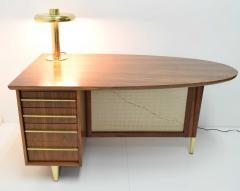 Miller Desk Safe Co Rosewood Midcentury Desk by Miller Desk Safe Company 1930s - 1457804