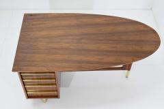 Miller Desk Safe Co Rosewood Midcentury Desk by Miller Desk Safe Company 1930s - 1457808