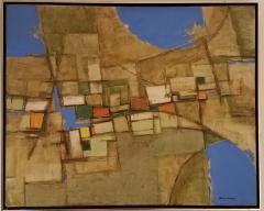 Minoru Brutalist Abstract Painting - 1255707