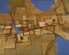 Minoru Brutalist Abstract Painting - 1257185