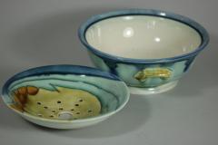 Minton Art Nouveau Minton Secessionist No 8 Sponge Dish - 1744869