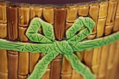 Minton Minton Majolica Bamboo Planter Stand - 1899175