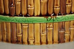 Minton Minton Majolica Bamboo Planter Stand - 1899176