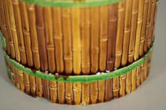 Minton Minton Majolica Bamboo Planter Stand - 1899177