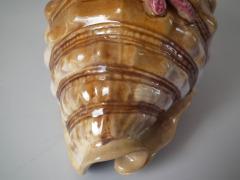 Minton Minton Majolica Conch Shell Spoon Warmer - 1804481