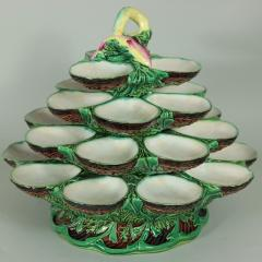 Minton Minton Majolica Four Tiered Oyster Stand - 2003744