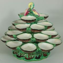 Minton Minton Majolica Four Tiered Oyster Stand - 2003745