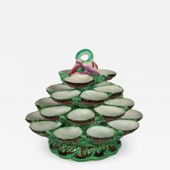 Minton Minton Majolica Four Tiered Oyster Stand - 2010146