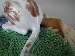 Minton Minton Majolica Game Pie Dish with Gun Dog - 1745049