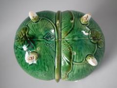 Minton Minton Majolica Lily Basket - 1755197