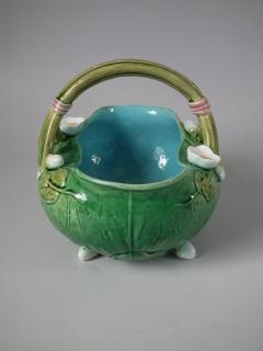 Minton Minton Majolica Lily Basket - 1755202