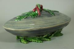 Minton Minton Majolica Mussel Dish and Cover - 2052976
