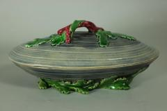 Minton Minton Majolica Mussel Dish and Cover - 2052977