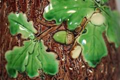 Minton Minton Majolica Oak Jug Pitcher with Snail Handle - 1900403