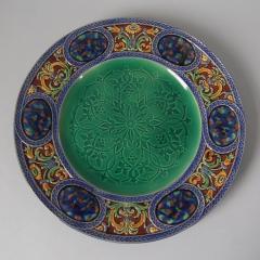 Minton Minton Majolica Palissy Ware Plate - 1959343