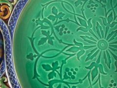 Minton Minton Majolica Palissy Ware Plate - 1959348
