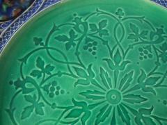 Minton Minton Majolica Palissy Ware Plate - 1959349