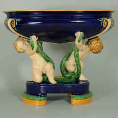Minton Minton Majolica Putti Figural Bowl - 1958332