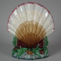 Minton Minton Majolica Shell Flower Holder - 1744938