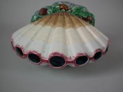 Minton Minton Majolica Shell Flower Holder - 1744941