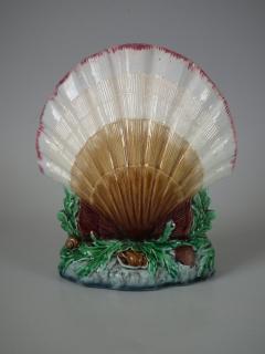 Minton Minton Majolica Shell Flower Holder - 1744943