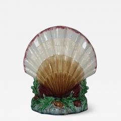 Minton Minton Majolica Shell Flower Holder - 1745877