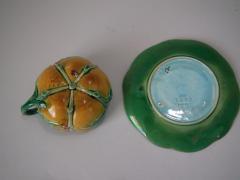 Minton Minton Majolica Teacup and Saucer - 1959397