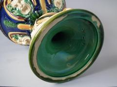 Minton Monumental Minton Majolica Ewer and Stand - 1766429