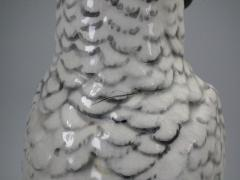 Minton Pair of Edwardian Mintons Majolica Parrots or Cockatoos - 1992008