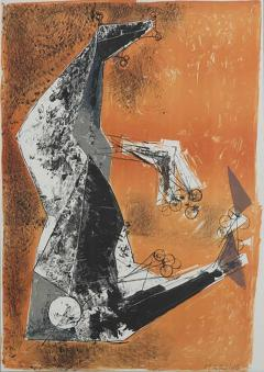 Miracolo by Marino Marini lithograph in colours - 839061