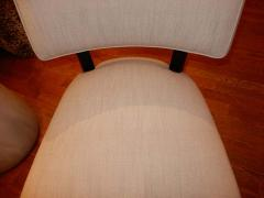 Mitchell Gold Pair of Midcentury Mitchell Gold Side Chairs Slipper Chairs - 1881538