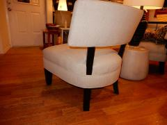 Mitchell Gold Pair of Midcentury Mitchell Gold Side Chairs Slipper Chairs - 1881540